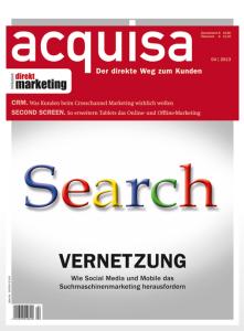 Social Search ist Feintuning, Acquisa